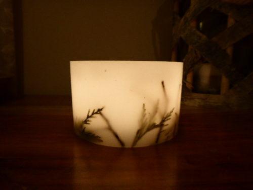 Woodland Hurricane Candle
