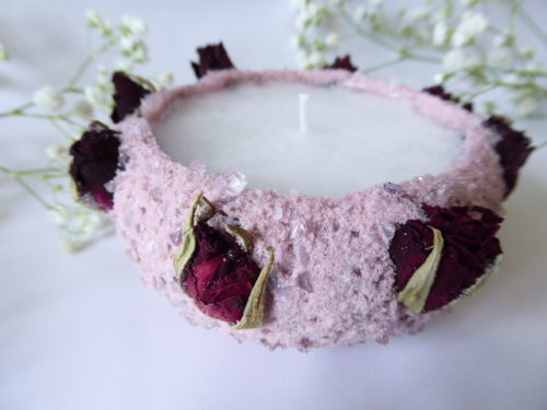 Rose Bud Candles