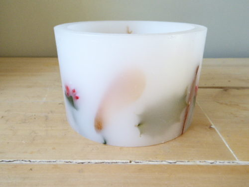 winter season hurricane candle tea light holder