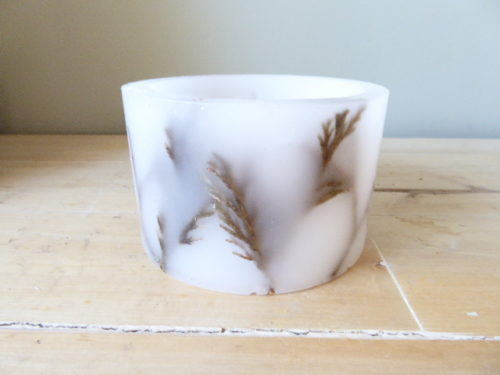 woodland hurricane candle tea light holder
